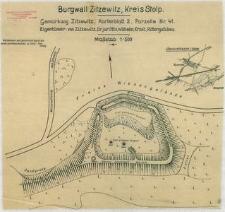 Burgwall Zitzewitz, Kreis Stolp