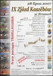 [Plakat] : IX Zjôzd Kaszëbów w Brusach