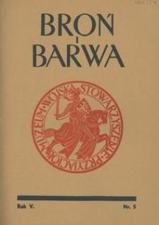 Broń i Barwa, 1938, nr 5