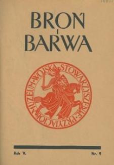 Broń i Barwa, 1938, nr 9