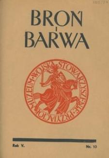 Broń i Barwa, 1938, nr 10
