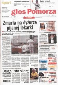 Głos Pomorza, 2006, październik, nr 230