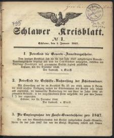 Schlawer Kreisblatt 1847
