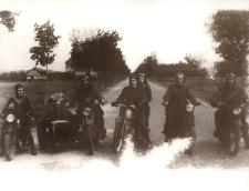 Lębork - Pierwsza Sekcja Motorowa 1945 r.