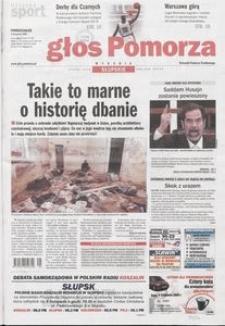 Głos Pomorza, 2006, listopad, nr 259