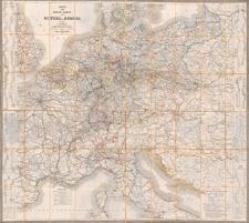 Post und Reise-Karte von Mittel-Europa HerausgegebenvonL. Friedrich Königlich Preussischem Geheimen Post-Ratheund Director des Cours-Bureaus im General-Postamte zu Berlin
