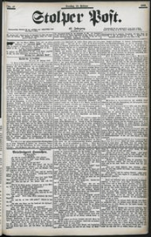 Stolper Post Nr. 46/1903