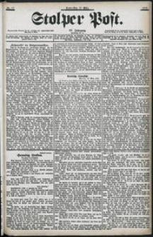 Stolper Post Nr. 66/1903
