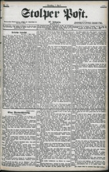 Stolper Post Nr. 82/1903