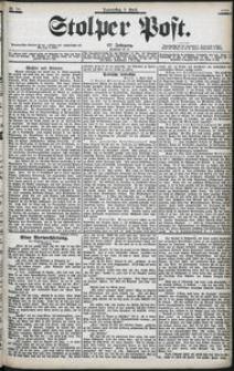 Stolper Post Nr. 84/1903