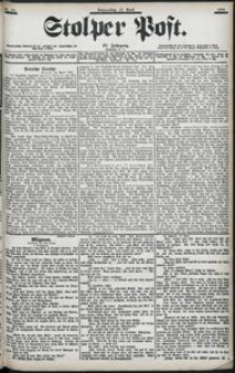 Stolper Post Nr. 94/1903