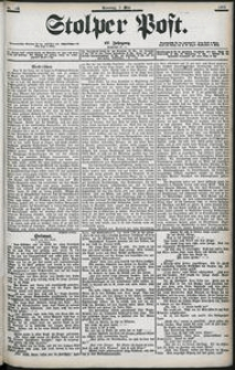 Stolper Post Nr. 103/1903