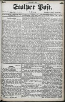 Stolper Post Nr. 105/1903