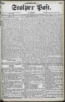 Stolper Post Nr. 106/1903
