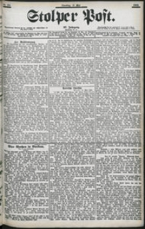 Stolper Post Nr. 116/1903