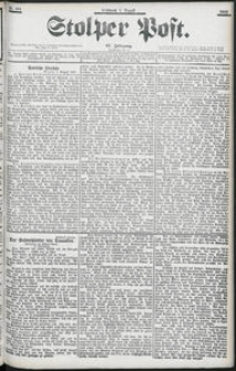 Stolper Post Nr. 181/1903
