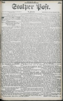 Stolper Post Nr. 183/1903