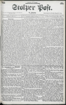 Stolper Post Nr. 191/1903