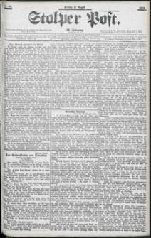 Stolper Post Nr. 195/1903