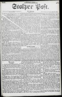 Stolper Post Nr. 247/1903