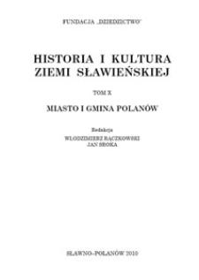 Historia i kultura Ziemi Sławieńskiej. T. 10, Miasto i Gmina Polanów