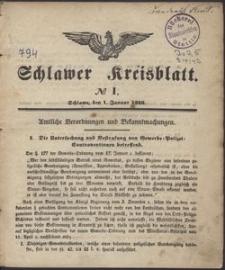 Schlawer Kreisblatt 1846