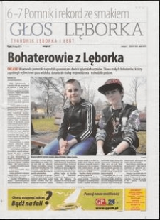 Głos Lęborka : tygodnik Lęborka i Łeby, 2013,maj, nr 120
