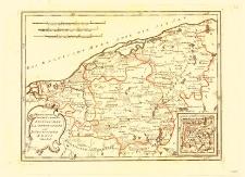 Des Herzogthums HinterPommern Stolpischer Lauenburgischer und Bütowscher KreisNro. 338. [Mapa Księstwa Tylnopomorskiego. Powiat słupski, lęborski i bytowski Nr 338]
