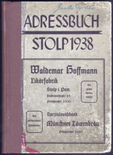 Adressbuch Stolp 1938