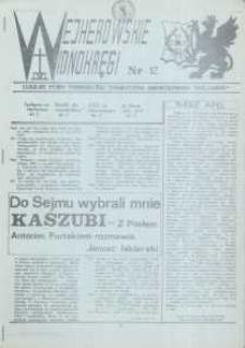 """Wejherowskie Widnokręgi Lokalne Pismo Pomorskiego Towarzystwa Samorządowego """"Solidarni"""", 1990, Nr - 12"""