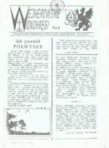 """Wejherowskie Widnokręgi Lokalne Pismo Pomorskiego Towarzystwa Samorządowego """"Solidarni"""", 1989, Nr 6"""