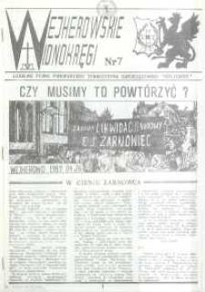 """Wejherowskie Widnokręgi Lokalne Pismo Pomorskiego Towarzystwa Samorządowego """"Solidarni"""", 1989, nr 7"""