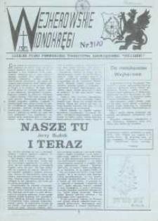 """Wejherowskie Widnokręgi Lokalne Pismo Pomorskiego Towarzystwa Samorządowego """"Solidarni"""", 1989, grudzień, Nr 9/10"""