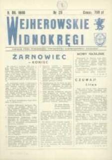 """Wejherowskie Widnokręgi Lokalne Pismo Towarzystwa Samorządowego """"Solidarni"""", 1990, wrzesień, Nr 29"""