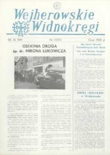 Wejherowskie Widnokręgi, 1991, październik, Nr 13 (57)