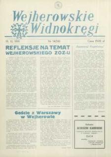 Wejherowskie Widnokręgi, 1991, październik, Nr 14 (58)