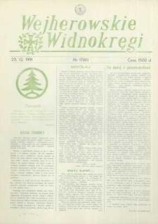 Wejherowskie Widnokręgi,1991, grudzień, Nr 17 (61)
