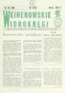 """Wejherowskie Widnokręgi Lokalne Pismo Pomorskiego Towarzystwa Samorządowego """"Solidarni"""", 1991, styczeń, Nr 1 (45)"""