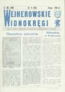 """Wejherowskie Widnokręgi Lokalne Pismo Pomorskiego Towarzystwa Samorządowego """"Solidarni"""", 1991, luty, Nr 4 (48)"""