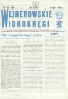 """Wejherowskie Widnokręgi Lokalne Pismo Pomorskiego Towarzystwa Samorządowego """"Solidarni"""", 1991, luty, Nr 5 (49)"""