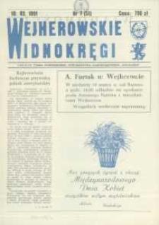 """Wejherowskie Widnokręgi Lokalne Pismo Pomorskiego Towarzystwa Samorządowego """"Solidarni"""", 1991, marzec, Nr 7 (51)"""