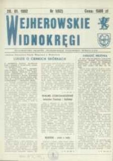 Wejherowskie Widnokręgi, 1992, styczeń, Nr 1 (62)