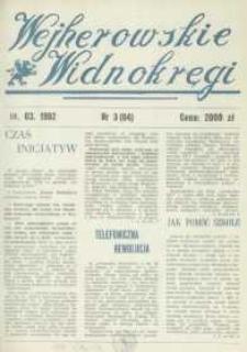 Wejherowskie Widnokręgi, 1992, marzec, Nr 3 (64)