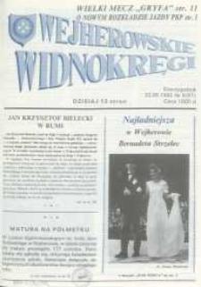 Wejherowskie Widnokręgi, 1992, maj, Nr 6 (67)