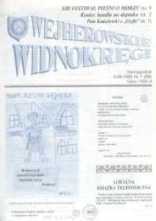 Wejherowskie Widnokręgi, 1992, czerwiec, Nr 7 (68)