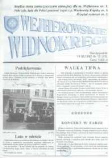 Wejherowskie Widnokręgi, 1992, sierpień, Nr 12 (73)