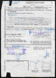 Przyjmowanie protokołów z głosowania przez członków Okręgowej Komisji Wyborczej i Wojewódzkiej Komisji Wyborcczej [dokument]