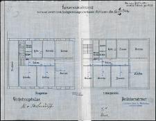 Konsenszeichnung für eine Leucht-und Kochgasanlage im Hause Schloss-Str. Nr. 5.6 Stolp