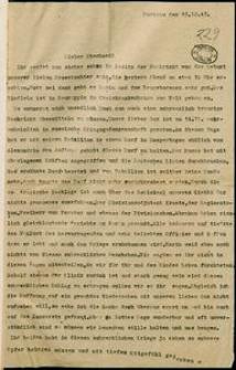 [Korespondencja z frontu II wojny światowej, s. 1]