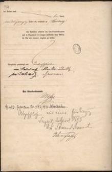 Akt ślubu Maxa von Hohendorff z Eva Alwine Schultz, s. 2